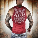 Yakuza tílko UHB 8051 Ribbon Red