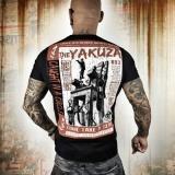 Yakuza tričko TSB 10010 Black empty fb86680d31