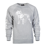 Amstaff Mikina Logo Sweater Grey