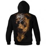 PitBull West Coast KP mikina EYES OF THE DOG černá - 2XL