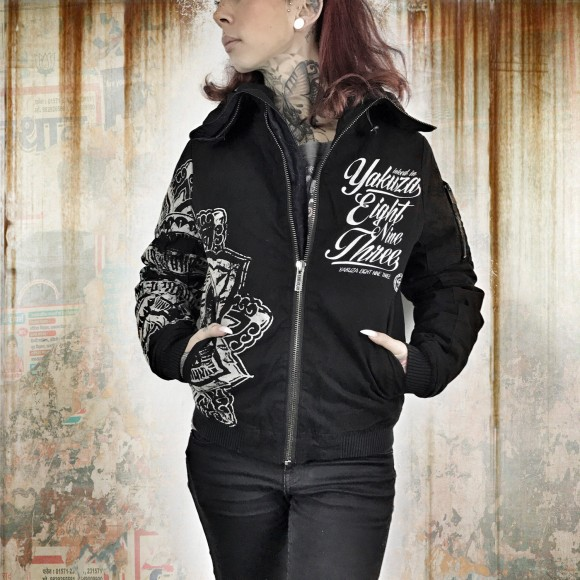 Yakuza bunda Jacket GJB 9141 Black