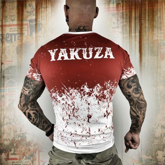 03e30de854fd Yakuza tričko TSB 10057 White Red