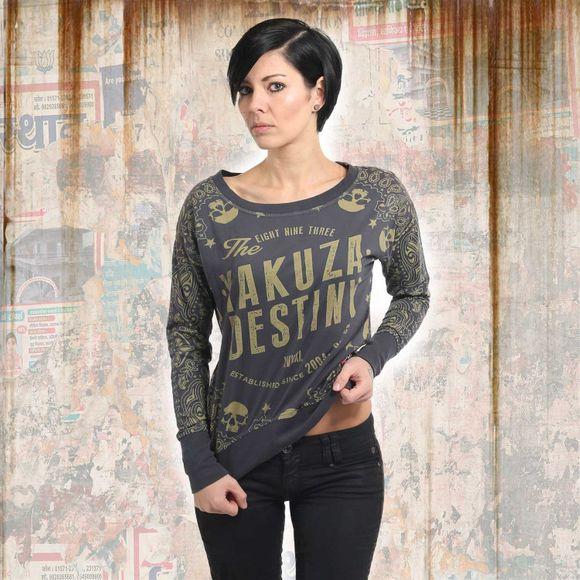 fa5fa3b68009 Yakuza dámské tričko GLSB 13142 Ebony