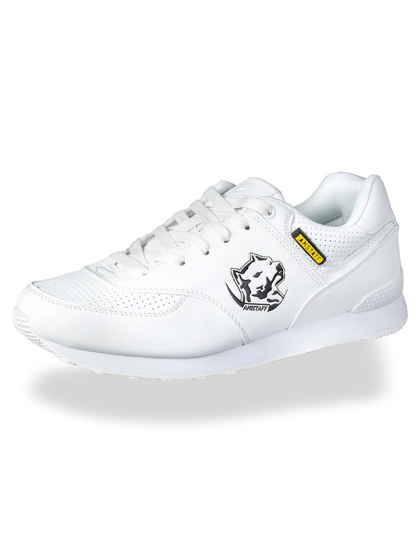 Amstaff Running Dog Sneakers White e719060d179