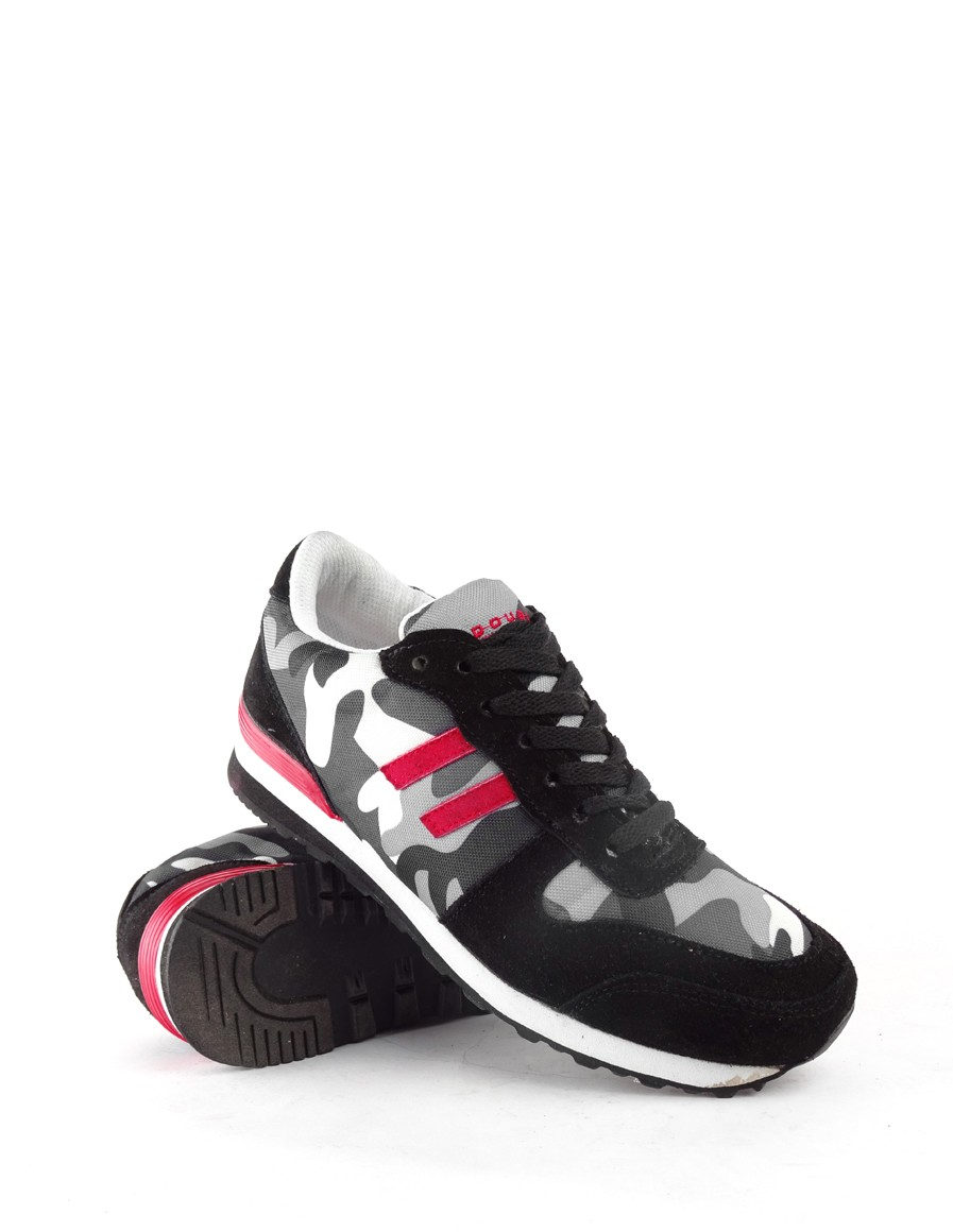 Double Red boty B&W Sneakers