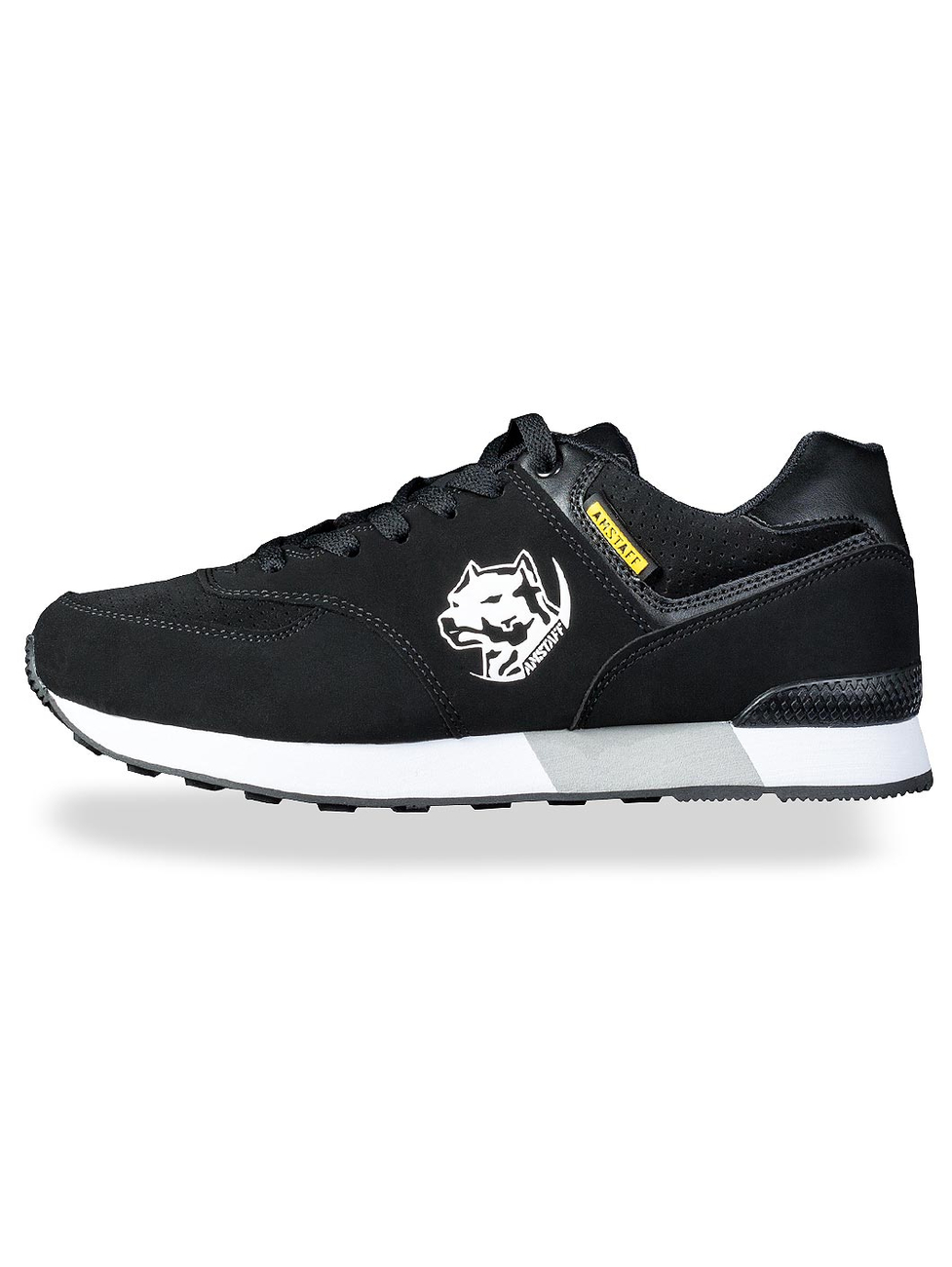 Amstaff Running Dog Sneakers Black