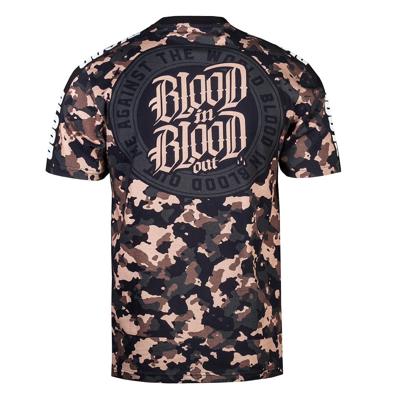 Blood in Blood triko All over Camou T-Shirt