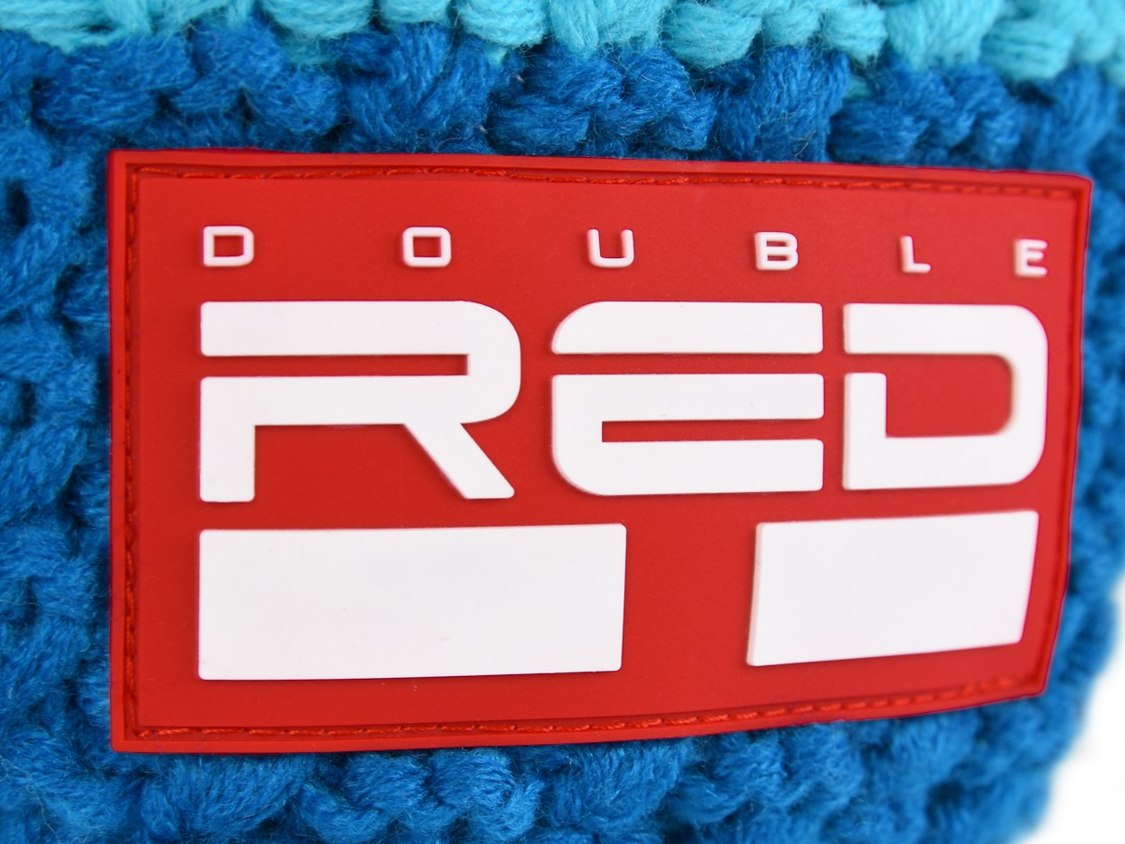 Double Red kulich COURCHEVEL Cap Blue/Blue/White