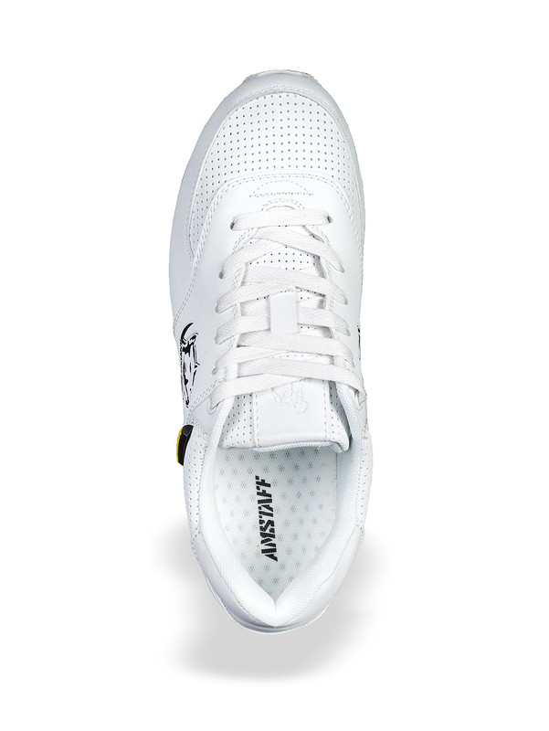 Amstaff Running Dog Sneakers White