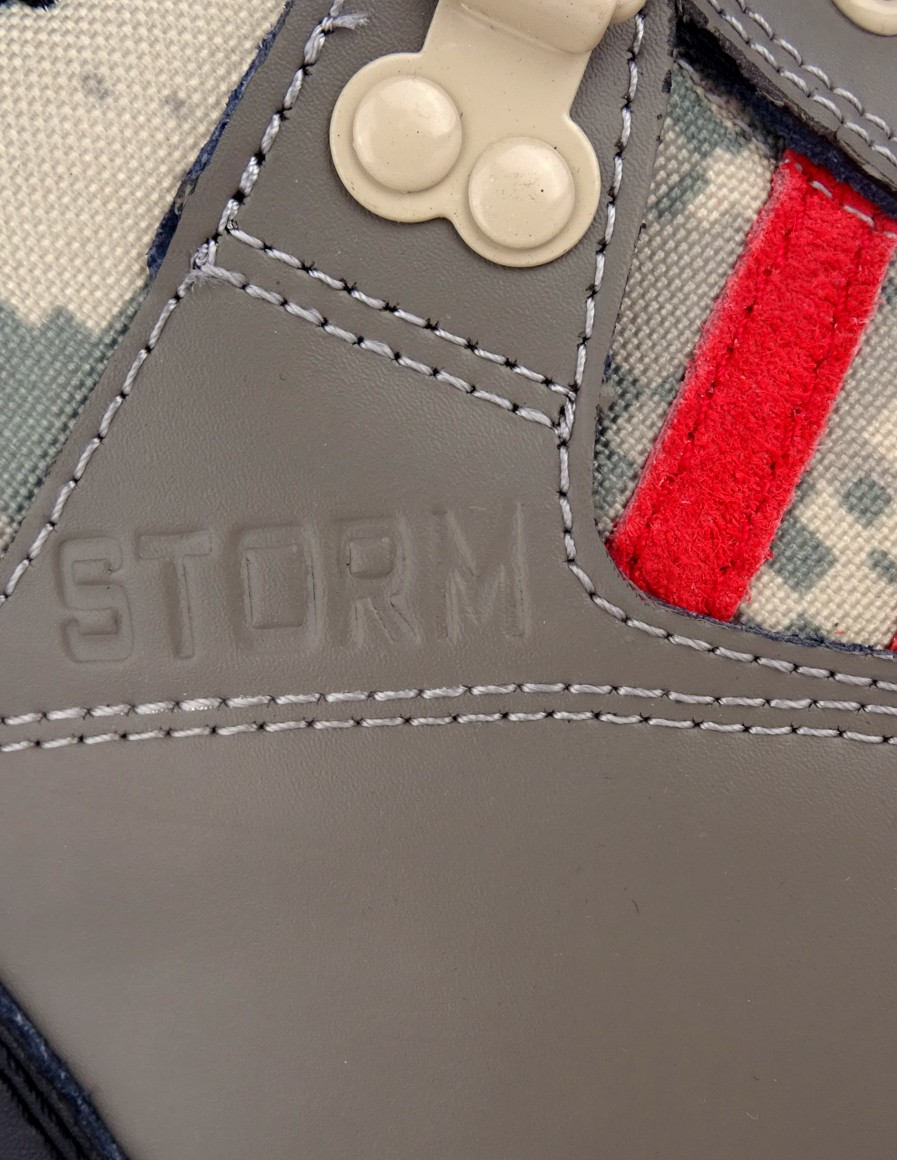 Double Red boty STORM DIGI/GREY
