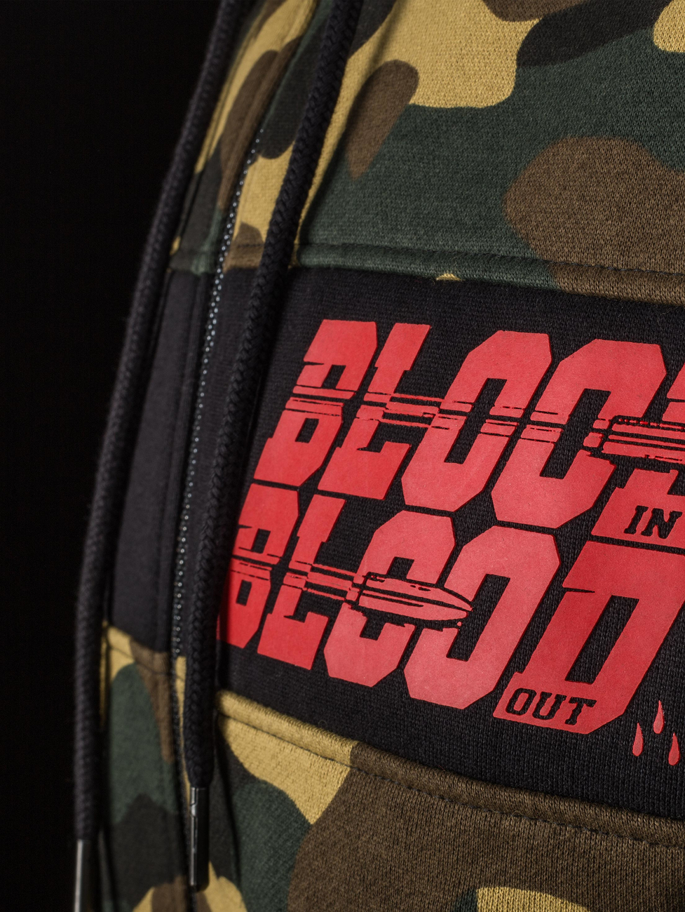 Blood in Blood mikina Bullet Zip