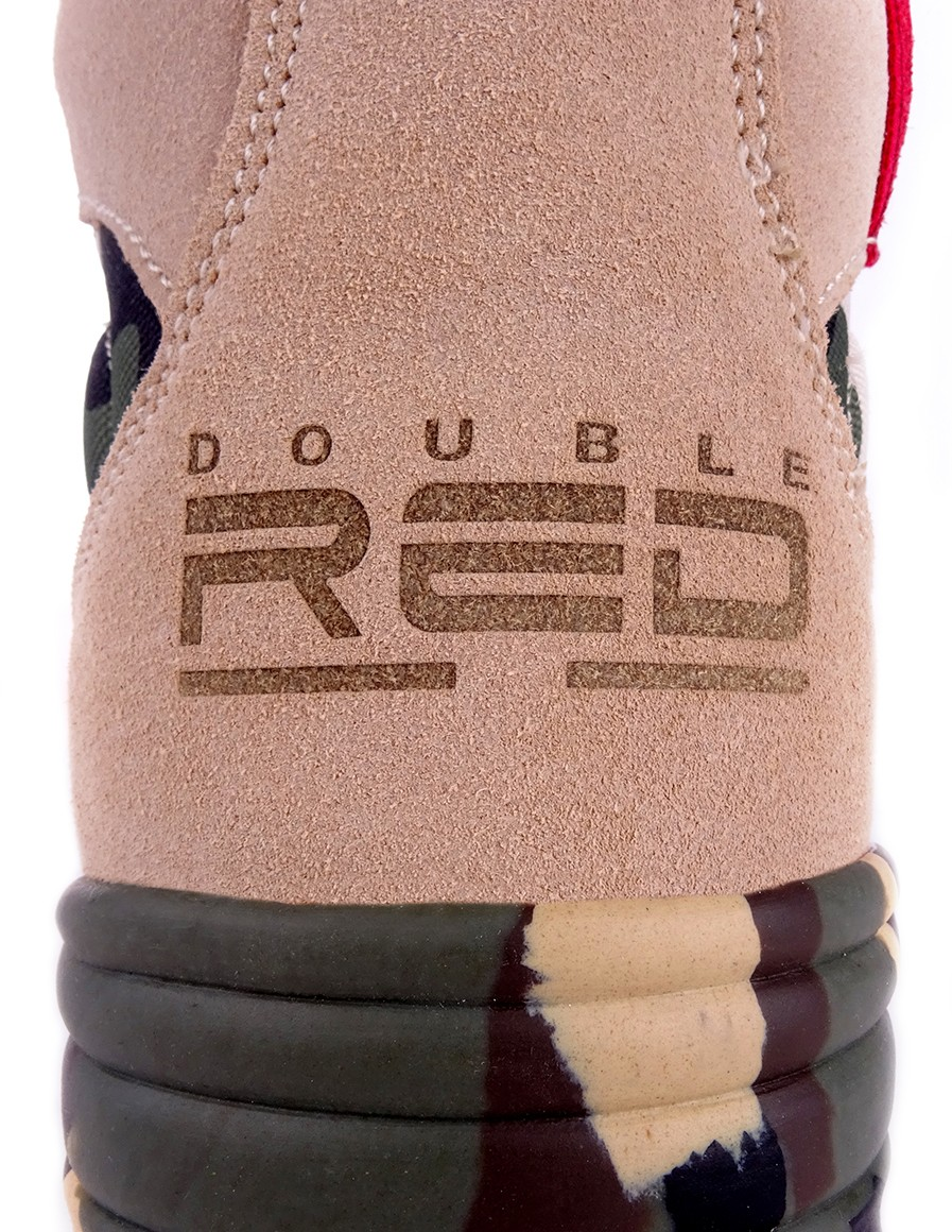 Double Red boty Original Camo Red Desert