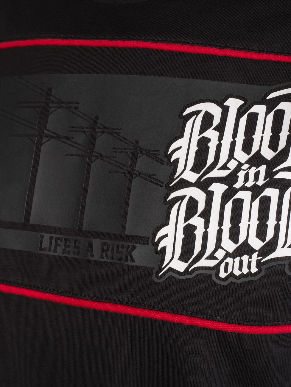 Blood in Blood triko Streets