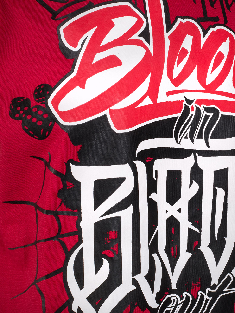 Blood in Blood triko Cali Life
