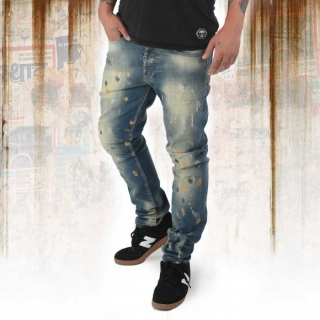 Yakuza jeansy JEB 12078 Bronze Distressed - 40