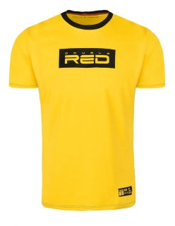 Double Red tričko LOGO VISION KUNG FU Master Yellow - XL