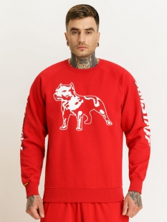 Amstaff Mikina Logo 2.0 Sweater Red - XL