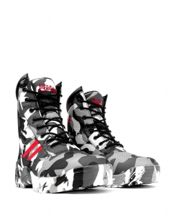 Double Red boty B&W Camodresscode Red Desert