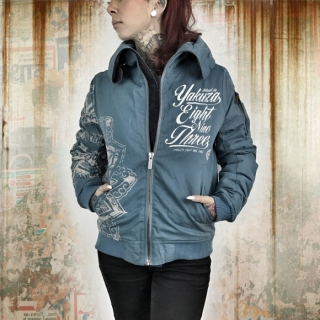 Yakuza bunda Jacket GJB 9141 Smoke Blue
