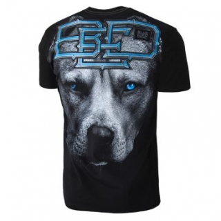 PitBull West Coast triko BLUE EYED DEVIL 18 černé empty b6bec77cb9