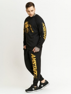 Amstaff souprava Logo 2.0 Sweater Black/Gold