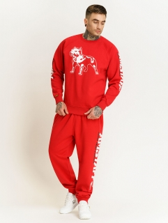 Amstaff souprava Logo 2.0 Sweater Red