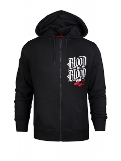 Blood in Blood mikina Marca Zip