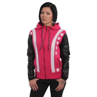 Yakuza dámská bunda FAUX STARS GHZB 14110 Rose Red