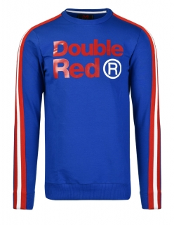 Double Red mikina FABULOUS Blue