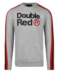 Double Red mikina FABULOUS Grey