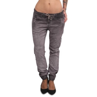 Yakuza jeansy GARAGE SLIM GJEB 15135 Grey Oil